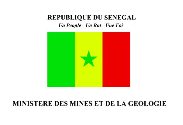 Ministère des Mines et de la Géologie, Sénégal