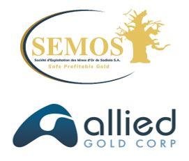 ALLIED GOLD CORP.-SEMOS SA